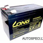 Akumulators 9Ah PB LONG WPI236W 12V. Cena 28.00 eur